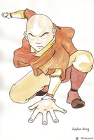 Avatar Aang 2 by Pivz
