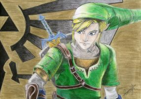 Link -Alternate Background by PseudonymousRMY