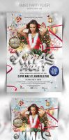 Xmas Party Flyer Template by caniseeu
