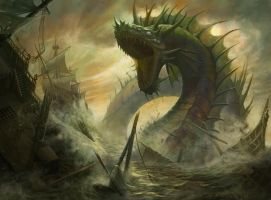 Fleetbreaker Serpent by MattCowdery
