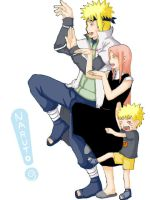 Uzumaki Family by Flyflyfish