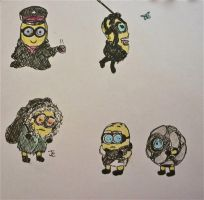 Apocalyptic Minions by Bubble-Masquerade16
