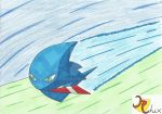 Sonic the Wisp by RiderRhix