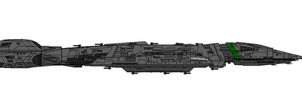 Battlestar Valkyrie Class design by United-Systems-Navy