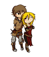 PC: Reide and Raine by Linkerbell
