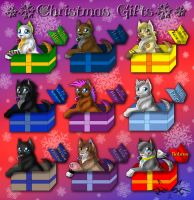 Christmas Gifts by kot-k