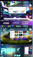 Aero x v2.5 for windows 7 by yacine29