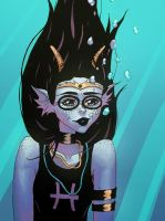Gorgeous Feferi by mylazyweasel