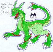 Dragon Booster Rayquaza by FlamedramonX20