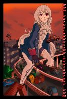 Giantess Prussia by ericalannelson