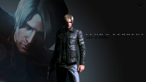 Resident Evil 6 Leon Wallpaper Pack by FadedBlackangel