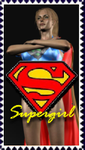 Supergirl Stamp by TrekkieGal