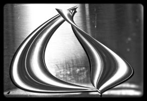 Aluminium with shapes by jennystokes