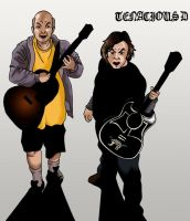 Tenacious D by deanfenechanimations
