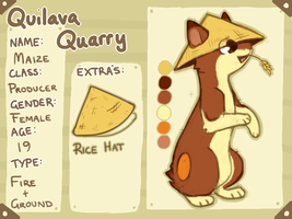 QUILAVA QUARRY Maize Ref by Jemanite