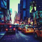 Walking to Times Square by Vanessaxgisel