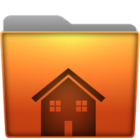 Folder Home Icon by Kryuko