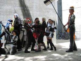 D.gray-man Silly Poses 2 by TheSapphireDragon1