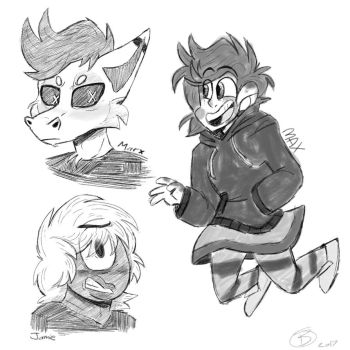 Pencil Sketches by ArtWolf99