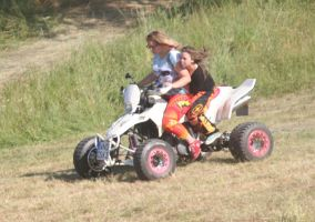 two Grls at a quad by Fotoback