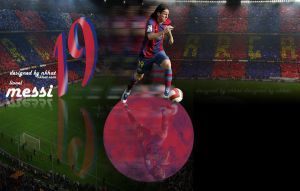 lionel messi by nkhat1