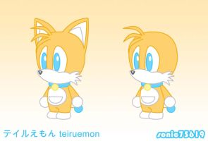 dora-style tails by sonic75619