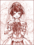 PT - Rue - Blushing Bride by amako-chan