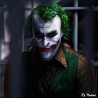 Joker Comic Style by Kid-Nigma