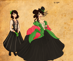 Miss Once and Lady Greed by Say-Erizabesu