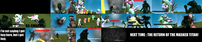 Attack on Pony: The Lizard Titan part 2 by Travler66