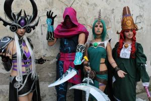 League of Legends at Lucca CeG 2013 by Aoi-Berry