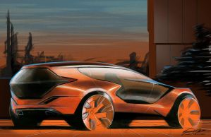 Syd Mead Style by Dannychhang