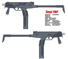 Steyr TMP Mp9 by bagera3005