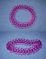 thin 4-in-1  -  pink n violet by BardicKitty