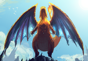 Charizard by Alantyn