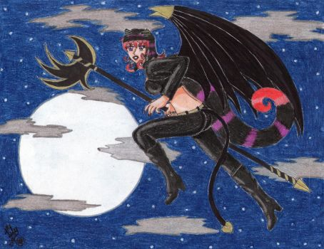 Succubus in the Night by Lily-de-Wakabayashi