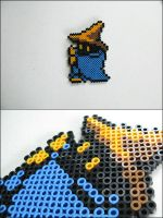 Final Fantasy 1 Black Mage casting-bead sprite by 8bitcraft
