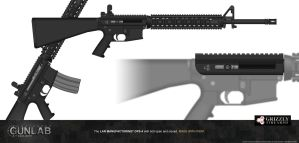 PSGP: LAR Grizzly OPS-4 Upper Receiver by PSGunlabProject
