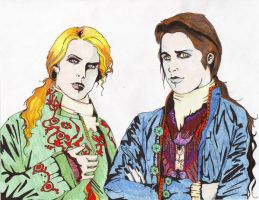 Lestat And Louis by corpsefactory22