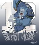 Beast Mode by JoshawaFrost