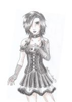 Scene Girl - Black by Shadow-chan93