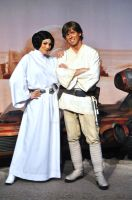 Luke and Leia by BellesAngel