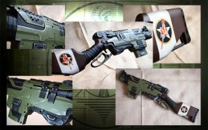 WWII Slingfire, OD Green with Pinup by KillingjarStudios