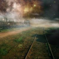 train stock 1 by CindysArt-Stock