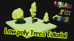 How to make a low poly tree in 3ds max by GinoPinoy