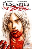 Descartes the Zombie_Cover by FlowComa