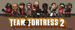 TF2: Meet the Team by BrightsideRy