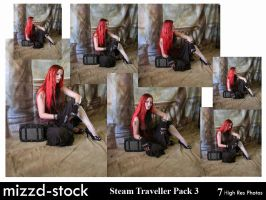 Steam Traveller Pack 3 by mizzd-stock
