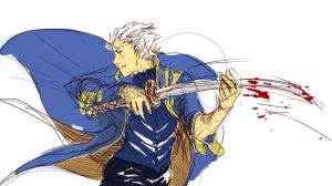 Vergil is on a killing spree xd by Uncka