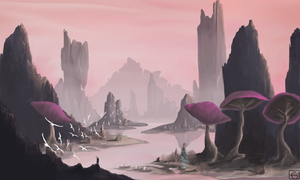 Telvanni Landing by TheeOtherOne